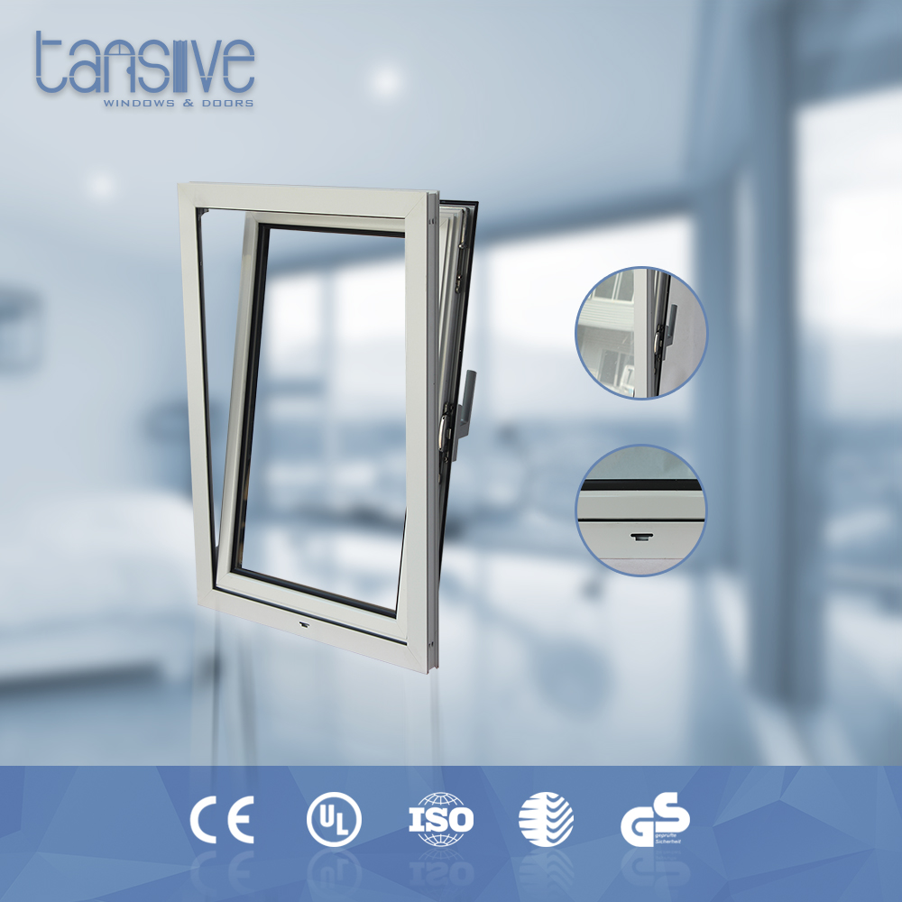Tansive construction double glazed canada aluminum tilt and turn window