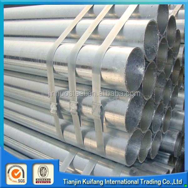Hot dip galvanized steel tube gi pipe price list for apply