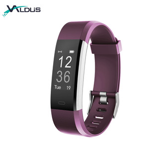 Best Selling 2018 Smart Bracelet Watch Fitness Activity Tracker Band For Android IOS ID115 Plus