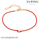74708 xuping red rope charm star baby bracelet
