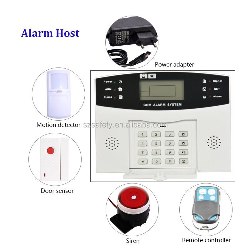 15 years Factory <strong>Manufacturing</strong> Widely Used Smart Home Alarm System Alert Host for Children/Elder