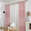 Good Washing Fastness Window Embroidery Lace Cotton Curtain