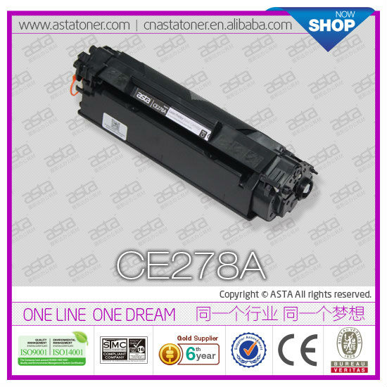 Printer spare part CE278A toner cartridge