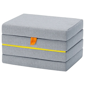 Kids Love 4-Folding Foam Mattress For Sofa Bed ,Travel/Guest Bed On Floor