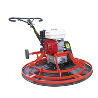 heavy type 1000mm gasoline power trowel machine automatic concrete finishing machine 40'' walk behind price for power trowel