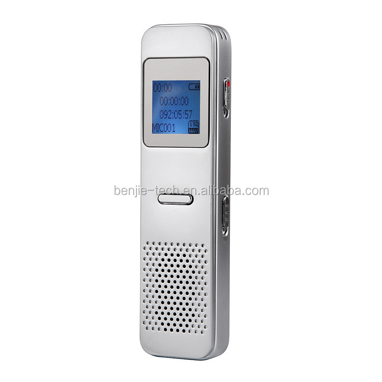 New model hot sale mini hidden digital voice recorder devices with screen