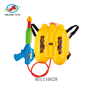 Wholesale cheap plastic big backpack water toys gun