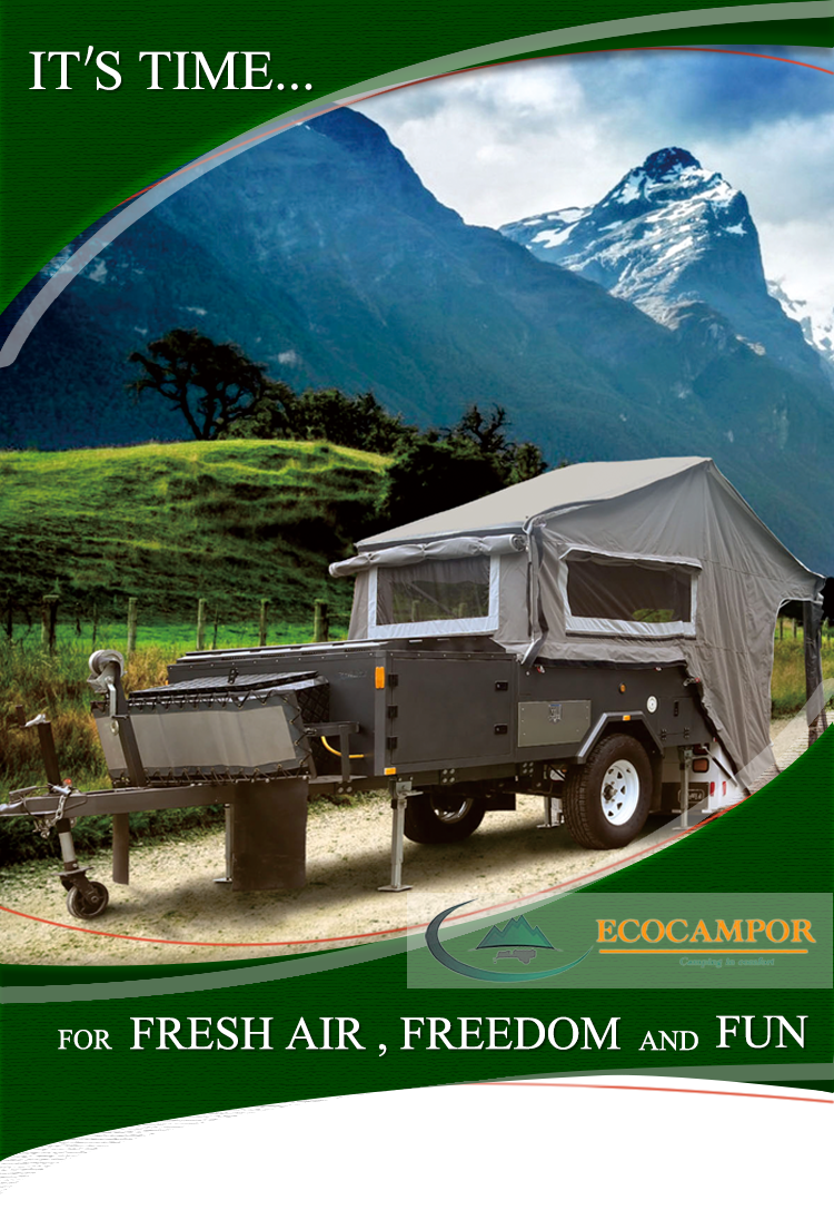 Diy Benutzerdefinierte Billig Vorwärts Folding Hard Boden Camper Und ...