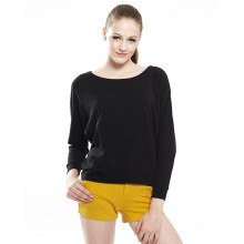 China supplier black long sleeve t shirts 100% percent cotton t shirts