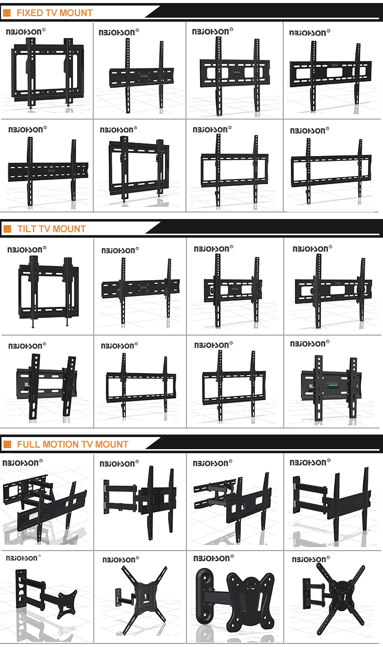 Hot selling swivel tv stand vertically adjustable plasma wall mount(LEDLK526)