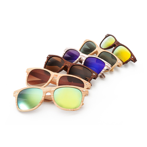 Custom logo designer polarized Sunglasses china brand promotion wood grain fashionable sunglasses for men women