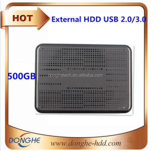 "500GB 2.5"" external hard drive with OEM case with 1 year warranty cheapest price on hot wholesale"