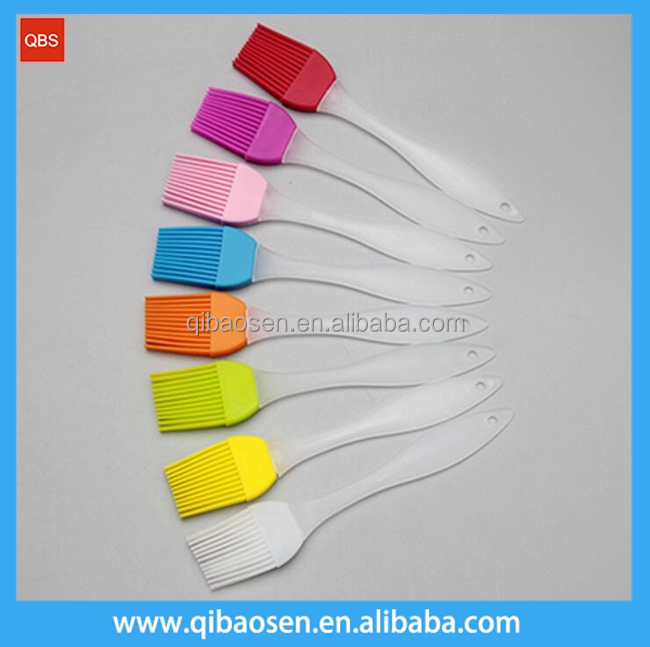 High quality promotion mini silicone bbq grill brush, Food grade Silicone pastry brush