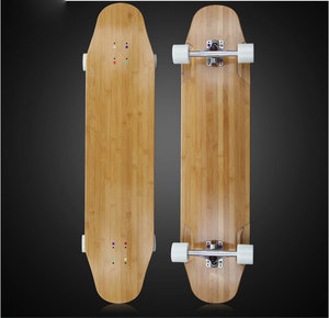Canadian Maple and Bamboo Composite Long board Skate Deck