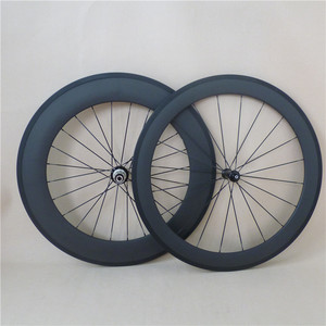 R36 Road bike rear 88mm front carbon 60mm clincher wheels