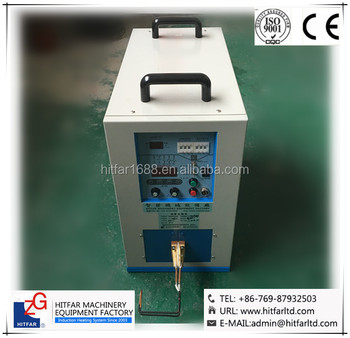 6kw/400KHz~1.1MHz Super High Frequency Induction Heating Machine: Ultra-high frequency Brazing/Welding/soldering Machine