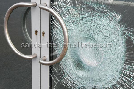 how to create bullet proof glass