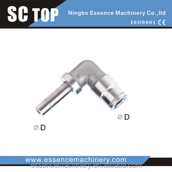 Metal Fitting-MPLJ Plug-in Elbow cdc fittings brass push in fittings pneumatic fittings