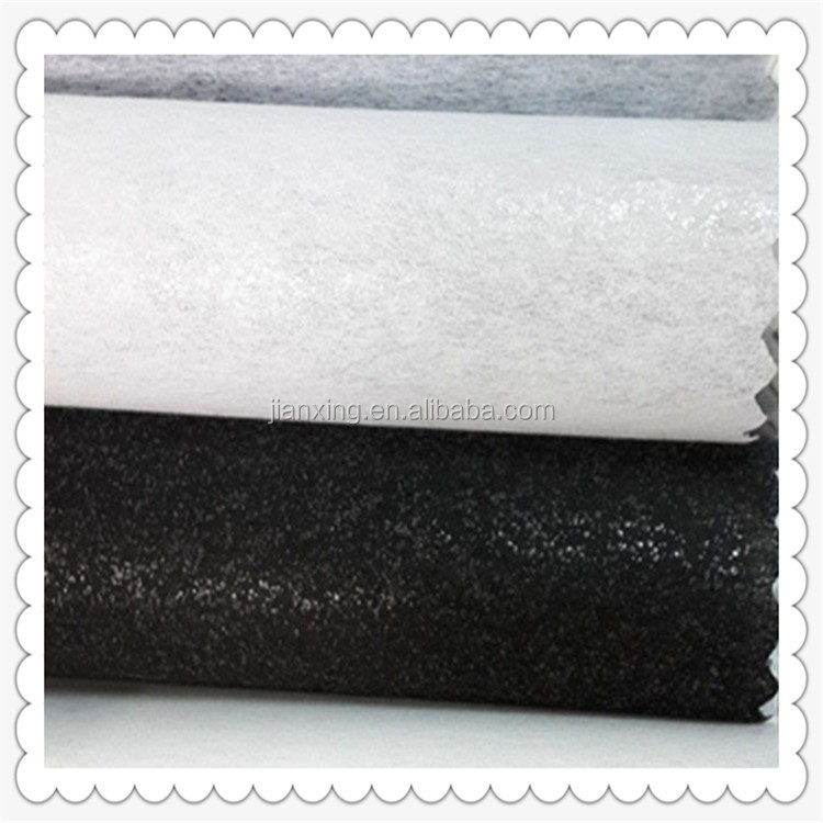 Rwholesale Nonwoven Interlining Polyester Fabric 1025hf