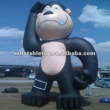 2012 hot sale Black Monkey/ Blue Monkey Advertising Inflatable cartoon for decorate or publicity