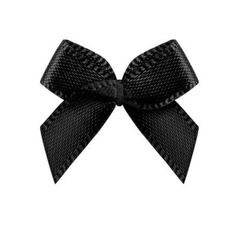 2Cm width bow stock color satin ribbon bow for underwear accessory