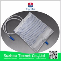 2000ml Medical device China Export Urine catheter bag for incontinence