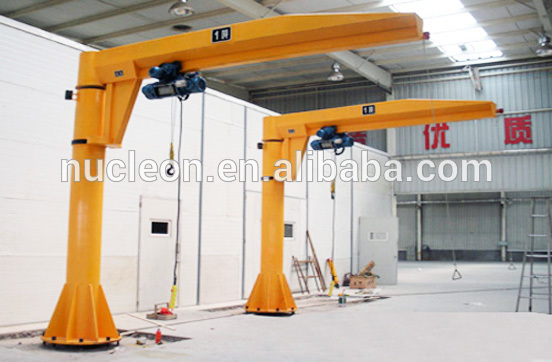Swing Arm Hoist Mount : Nucleon ton swing cantilever arm jib crane buy