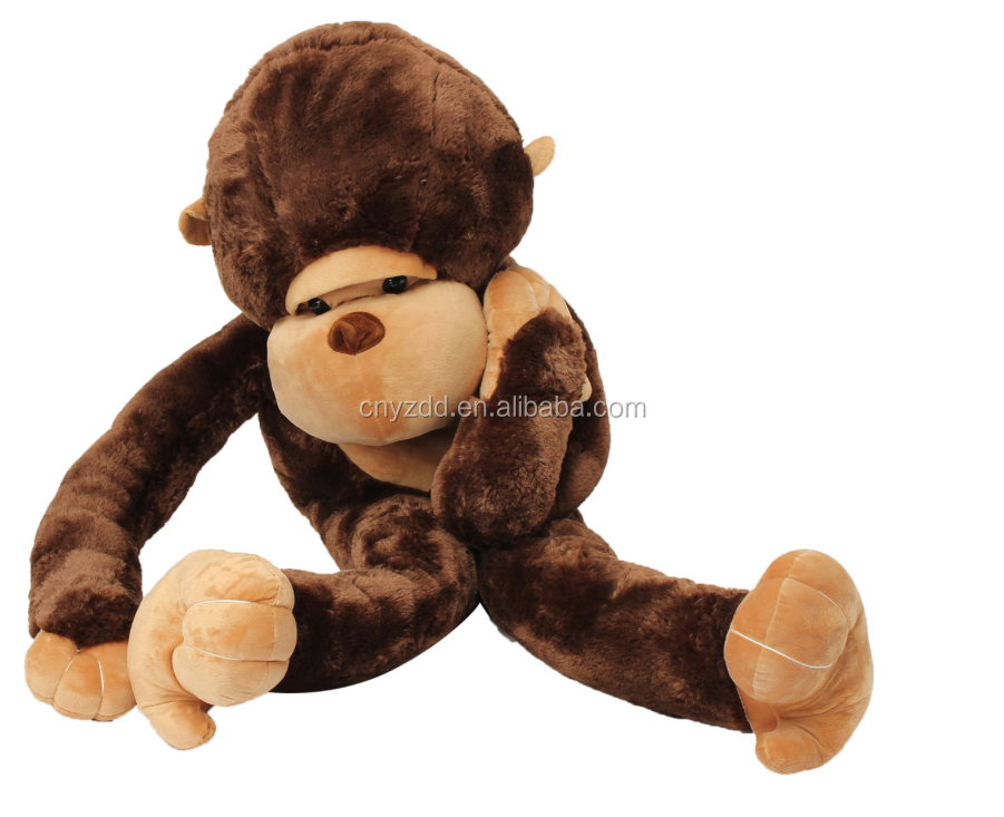 Oem Height 130cm Giant Huge Large Big Stuffed Soft Plush Brown