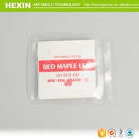wholesale steroid labels and box; recycle anti-mold chip for bag; flower home decor wall sticker