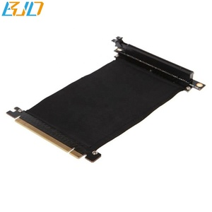 PCIE Extension cable PCI Express PCI-E X16 to 16X Extender Riser Cable 200/300/400/500/600mm 90 Degree SL