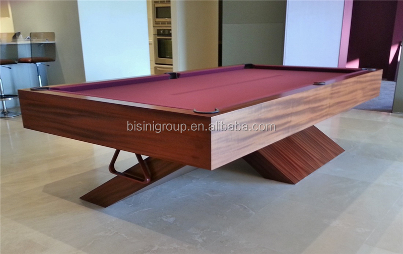special design natural wood color 9ft slate billiard table pool table - Slate Pool Table
