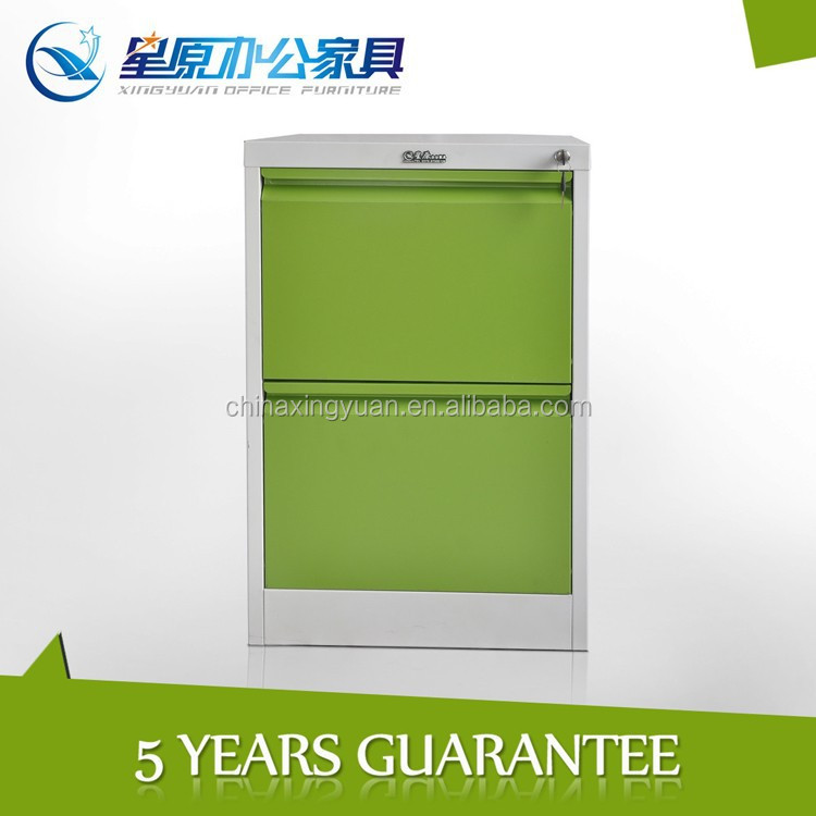 China hot sale powder coated fireproof cheap metal 2drawer filling cabinet