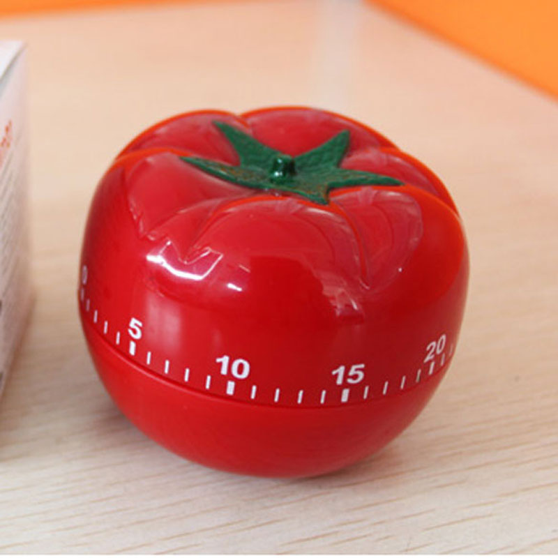 1-60 Minites Kitchen Timer Tomato Countdown Timer 360 Degree Funny Mechanical Timer