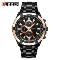 curren 8023 stainless steel band watch for men imported quartz watch hot relogio masulino luxury curren brand 8023 wristwatches