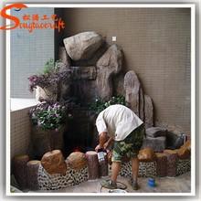 Promotioneel kunststof waterval koop kunststof waterval promotionele producten en items van - Buiten muur kraan decoratieve ...