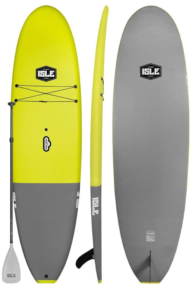 404579abf Get Quotations · ISLE Cruiser Soft Top Stand Up Paddle Board (4.5