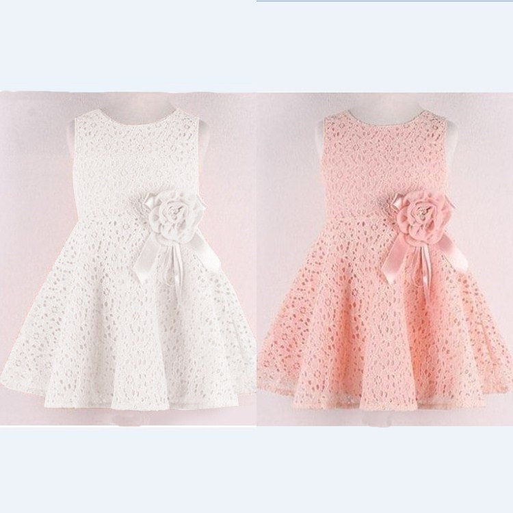 99255a5db80c 2016 New Lace Dress Lovely Little Party Dress Baby Girl Flower Dress ...