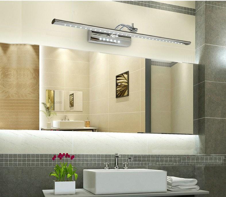 Brilliant Crystal Mirror Bathroom Vanity Light 6w Wall Cabinet Fixtures Ebay