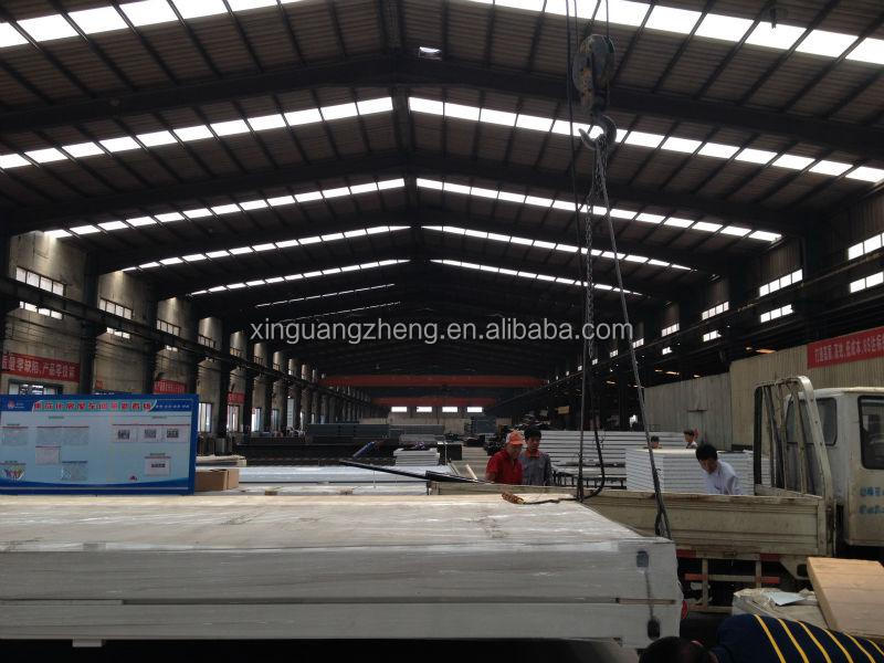 China light weight cheapest prefabricated manufactured warehouse