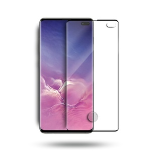 Full Screen Cover 9H Clear 3D Curved tempered glass screen protector For Samsung galaxy S10 Plus