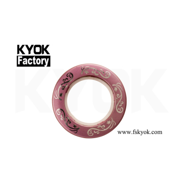 KYOK fashion curtain ring making machine plastic curtain ring eyelets shower curtain hooks