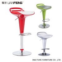 Modern adjustable metal bar stool chair high bar chair modern with footrest