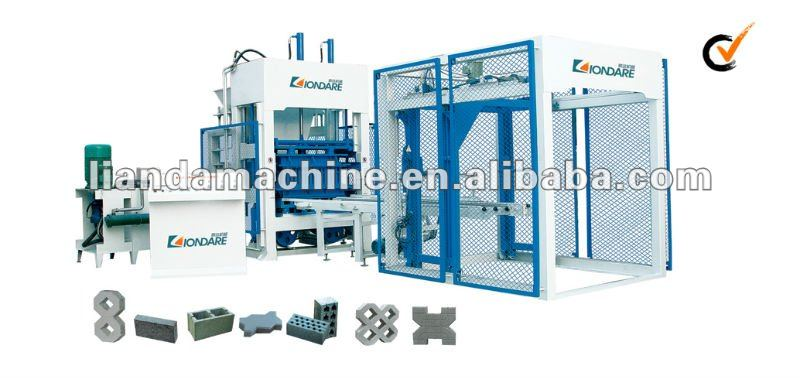 QT8-15 Concrete Automatic Block Machine
