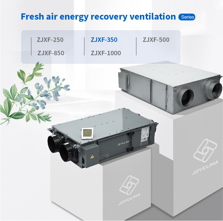 Wandmontage warmteterugwinning ventilator/auto warmteterugwinning unit/air recovery systeem warmteterugwinning ventilator
