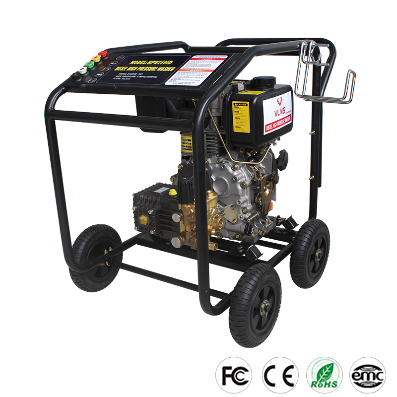 Good Quality Industrial Cold Water diesel engine high pressure washer For Car Washing