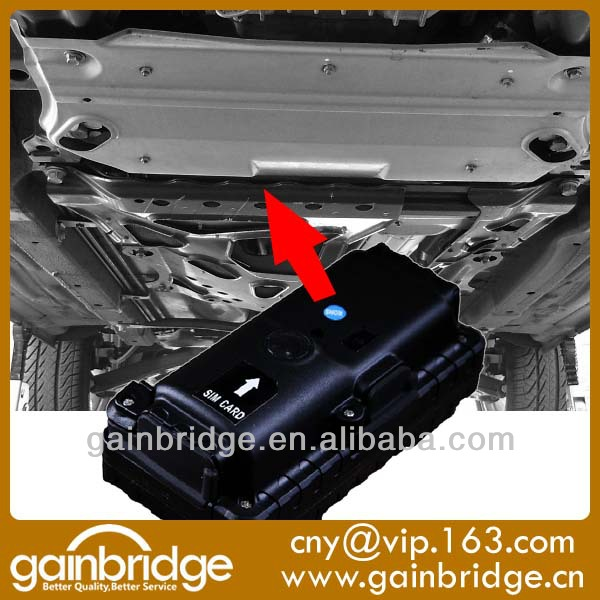 Gps Battery Powered Tracking Device Placed Under A Car For Law