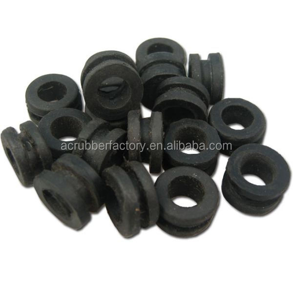 custom make EPDM grommets for cables small silicone rubber grommets rubber waterproof grommet