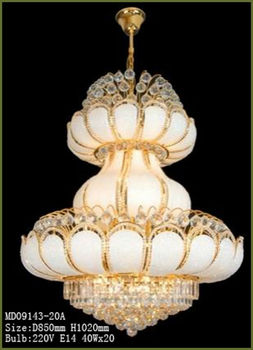 Lotus Leaf Design Modern Crystal Chandelier Buy Modern Chandelier - Chandelier leaves crystals