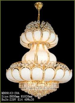 Lotus Leaf Design Modern Crystal Chandelier Buy Modern Chandelier - Chandelier leaves crystals