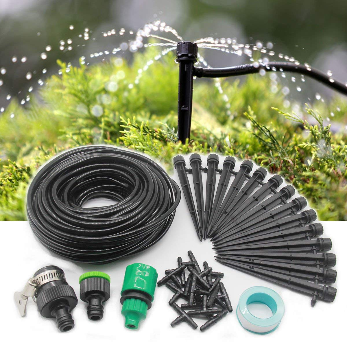 Rain Bird CNV2XBIRD Drip Irrigation Conversion Kit, 1//2